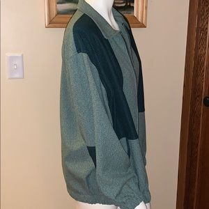 LORI of California lightweight green jacket. XL